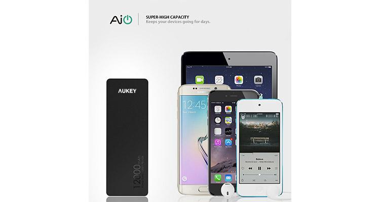 aukey batterie externe test